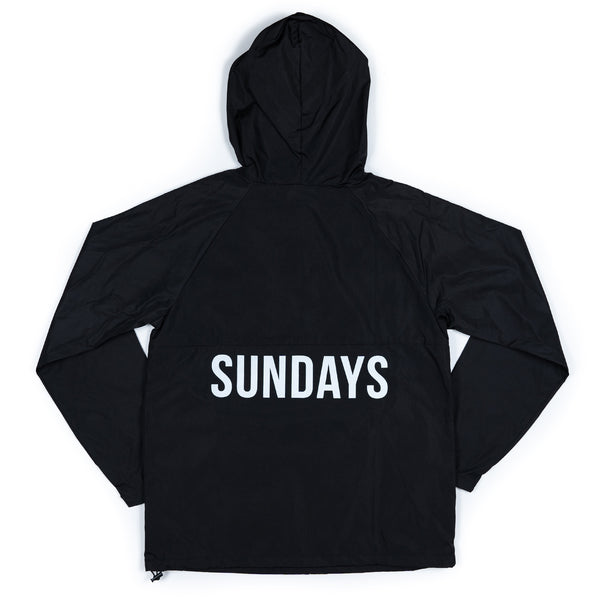 SUNDAYS SPRAY JACKET - BLACK