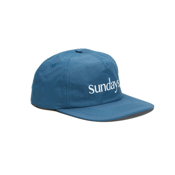 SUNDAYS 6-PANEL NYLON CAP - AGAVE GREEN