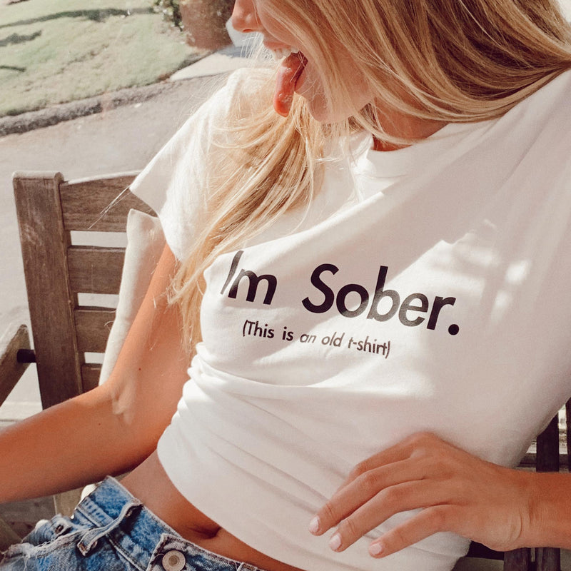 THE SOBER TEE - WHITE