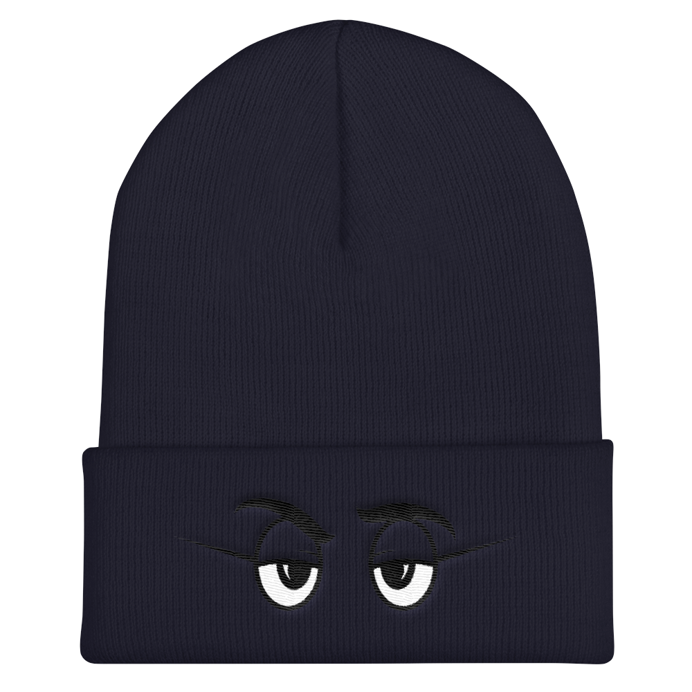 On Sight Navy Beanies