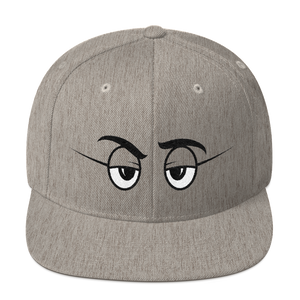 On Sight Heather Grey Snapback