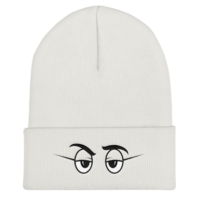 On Sight White Beanies