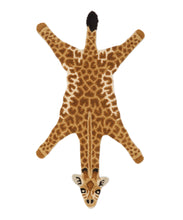 Load image into Gallery viewer, Small Gimpy Giraffe Rug