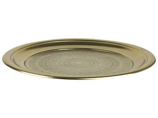 Decorative Platter Gold
