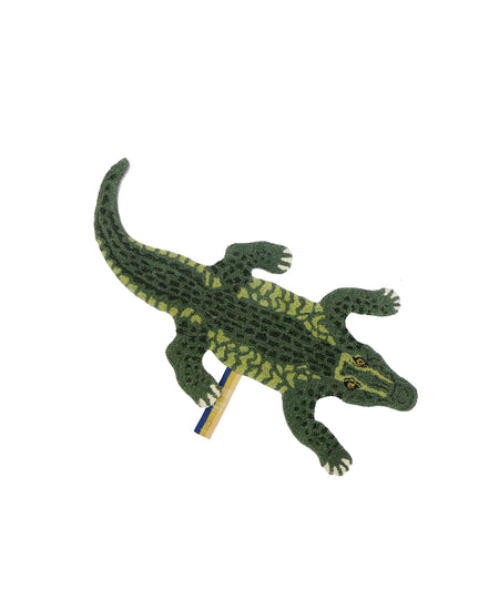 Small Coolio Crocodile Rug