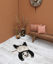 Load image into Gallery viewer, Small Plumpy Panda Rug