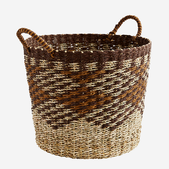 Paper Rope Basket with Handles