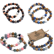 Load image into Gallery viewer, Gemstones Friendship Bracelets