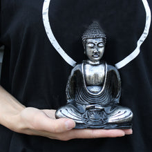 Load image into Gallery viewer, Black & Grey Buddha