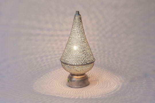 Silver Mini Filisky Table Lamp