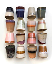 Load image into Gallery viewer, Ceramic 70's Mugs: Mix & Match