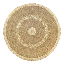 Load image into Gallery viewer, Seagrass Round Rug Venezia