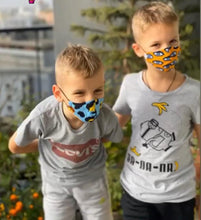 Load image into Gallery viewer, Senegalese Face Mask - kids model