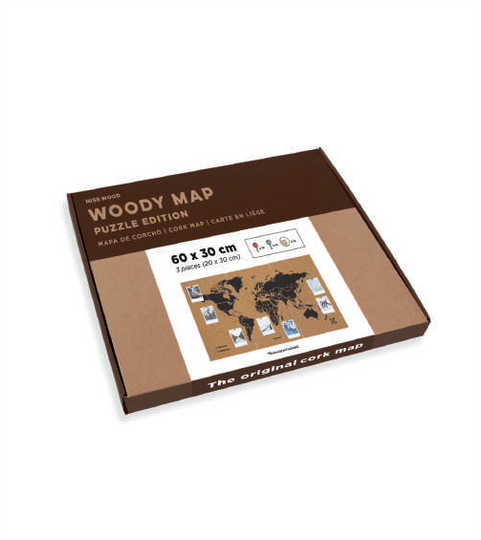 NEW Woody Map - XL Puzzle Edition