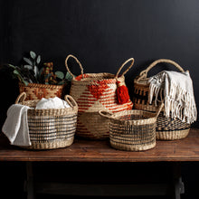 Load image into Gallery viewer, Seagrass Nomad Basket w/ Handle