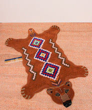 Load image into Gallery viewer, Small Berber Grizzly Bear Rug