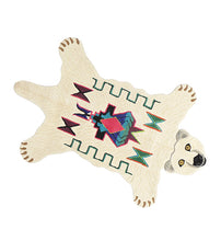 Load image into Gallery viewer, Large Kasbah Polar Bear Rug