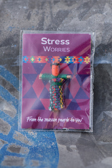 Set of 5 Personalised Mini Worry Dolls