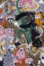 Load image into Gallery viewer, Loony Leopard Head rug