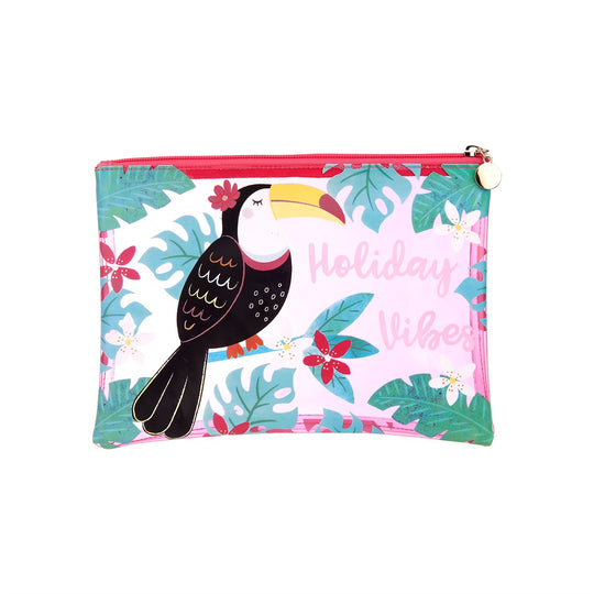 Tiki Toucan Holiday Pouch