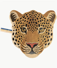 Load image into Gallery viewer, Himani Leopard Head Rug Large