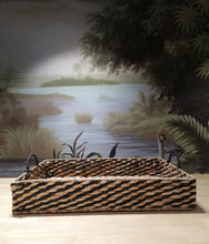 Load image into Gallery viewer, Wicker Platter With Handles