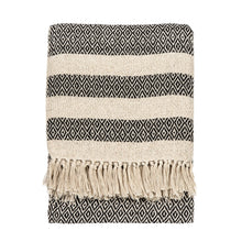 Load image into Gallery viewer, Scandi Boho Blanket Throw