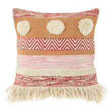 Load image into Gallery viewer, Nevada Pink Striped Cushion