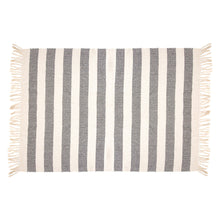 Load image into Gallery viewer, Scandi Boho Stripe Blanket Throw