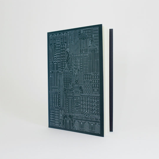 Cities Debossed Notebook