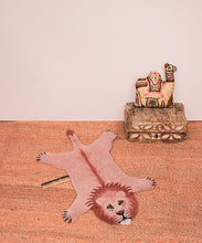 Load image into Gallery viewer, Small Pinky Lion Rug