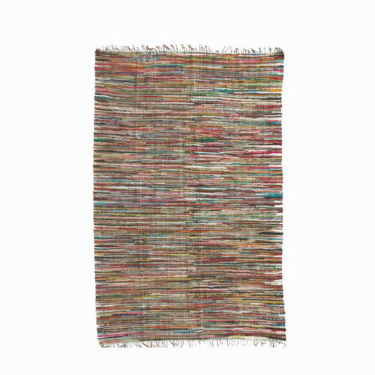 Multi Rag Rug Large