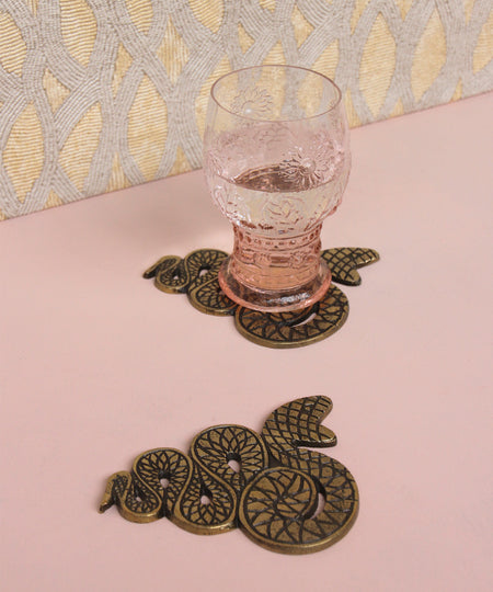 Set of 4 Snake Coasters