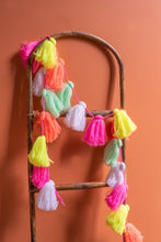 Load image into Gallery viewer, Pastel Colours Tassel Garland