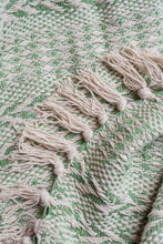 Load image into Gallery viewer, Cotton Stripe Weave Throw