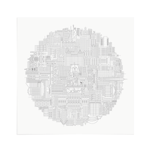 Load image into Gallery viewer, New York Circular City Poster
