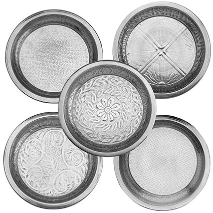 Set of 5 Tinklet Plates (25 cm)