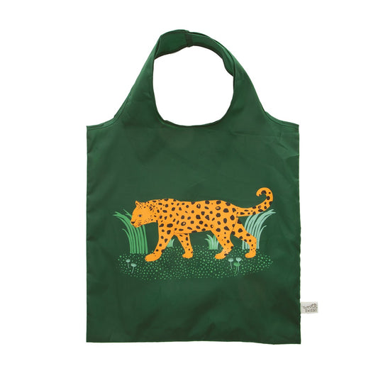 Leopard Foldable Shopping Bag