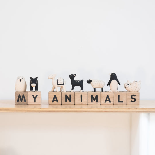 Word Cubes by Maison Deux