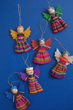 Load image into Gallery viewer, Set of 2 Guatemalan Worry Doll Christmas Angels