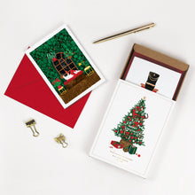 Load image into Gallery viewer, Christmas Box (set of 8 greeting cards)