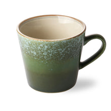 Load image into Gallery viewer, Ceramic 70's Cappuccino Mug: Grass