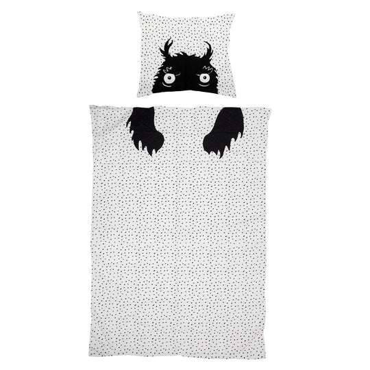 Monster Kids linen duvet/pillow