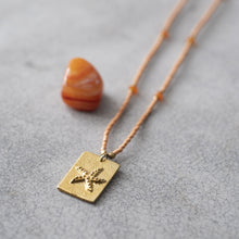 Load image into Gallery viewer, Delight Carnelian Gold Necklace