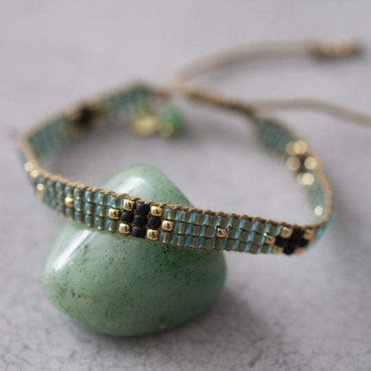 Summerlight Aventurine Gold Bracelet