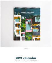 Load image into Gallery viewer, Urban Jungle 2021 Calendar