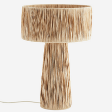 Load image into Gallery viewer, Raffia Table Lamp
