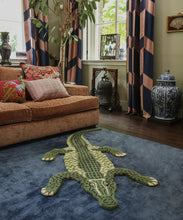 Load image into Gallery viewer, Large Coolio Crocodile Rug