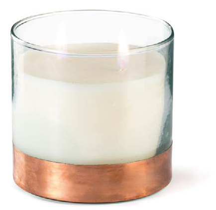 Large Copper Scented Candle