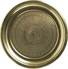 Load image into Gallery viewer, Decorative Platter Gold